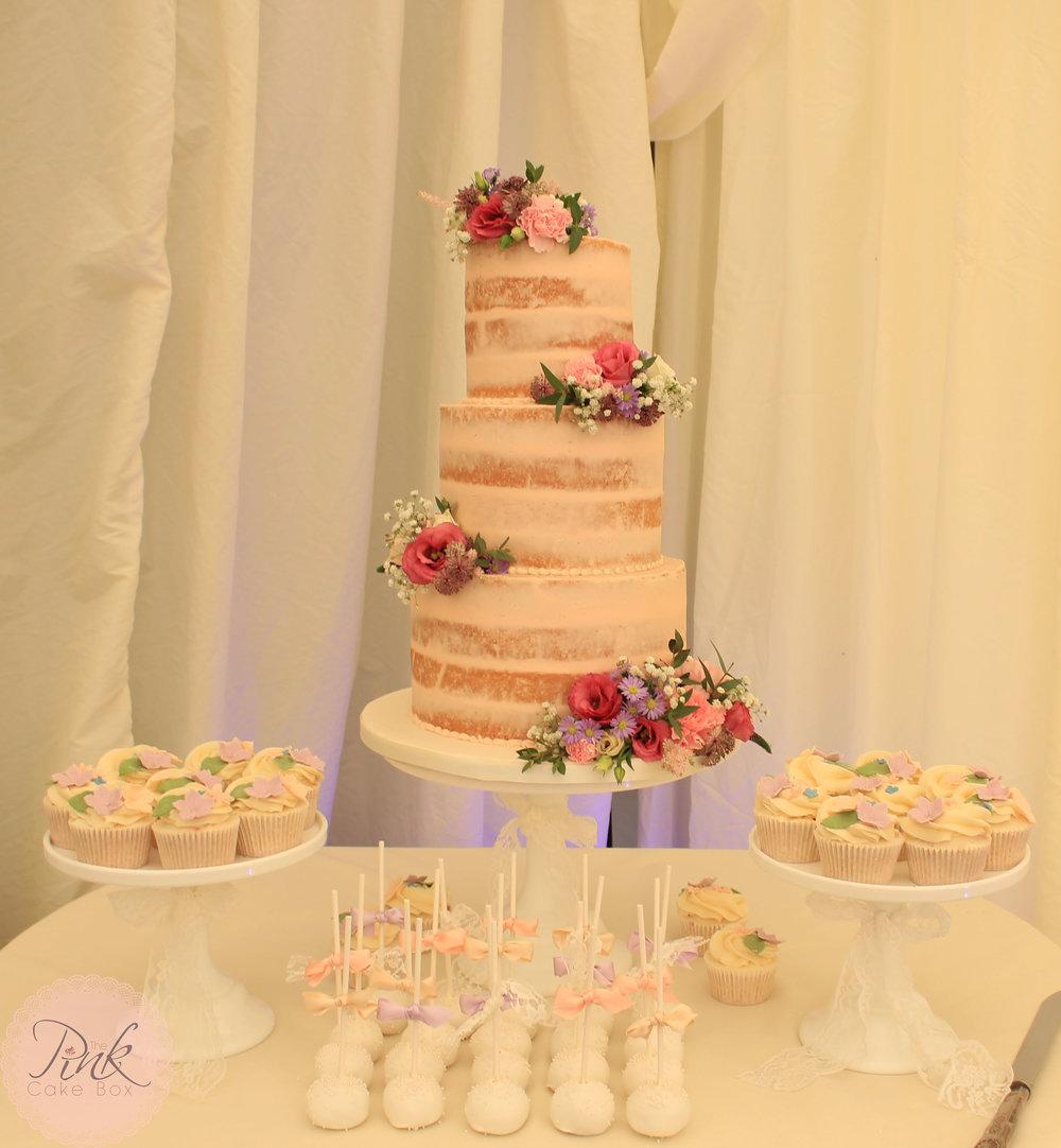 Wedding Cake Tables and Cupcakes — The Pink Cake Box Wedding Cake Design