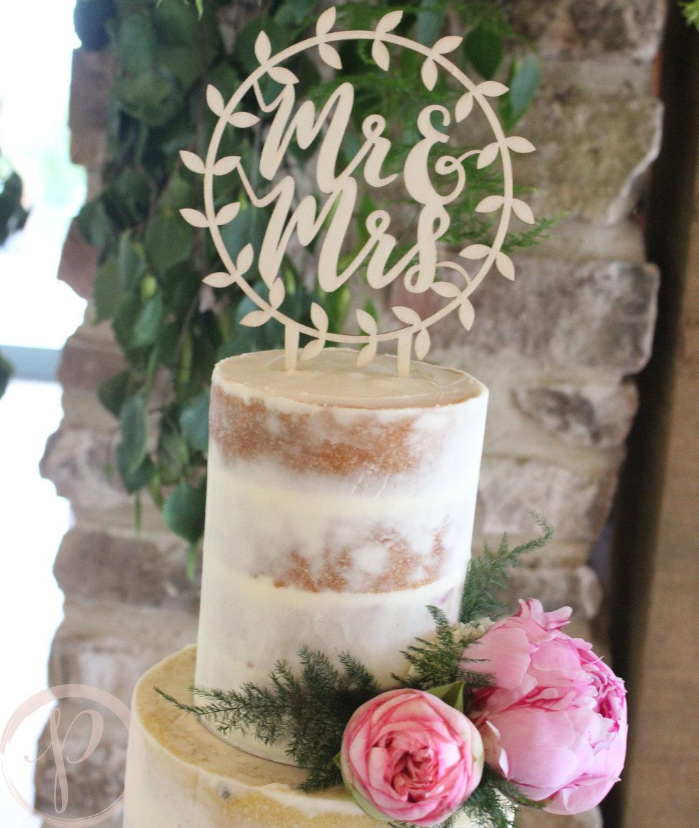 peony semi naked wedding cake mr and mrs.jpg