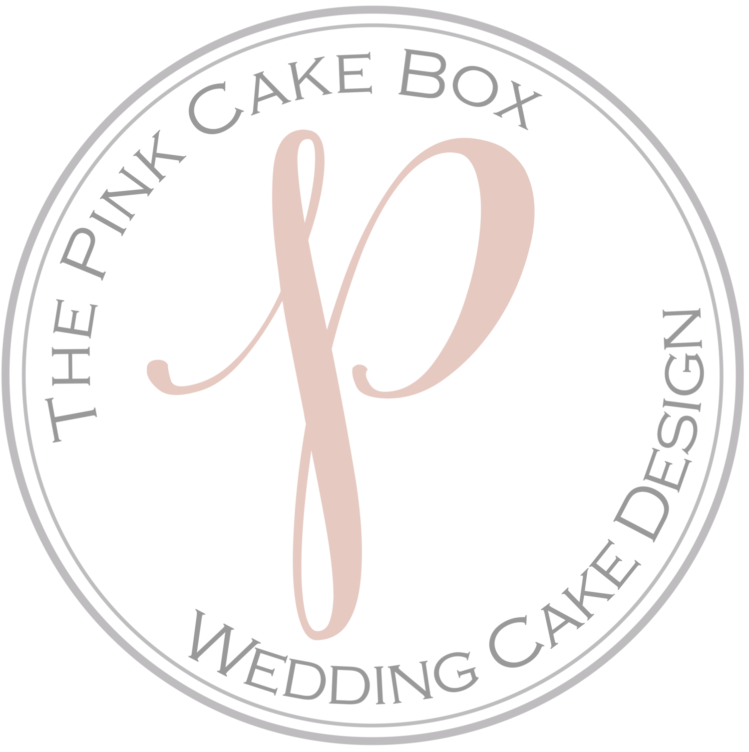 The Pink Cake Box Wedding Cake Design