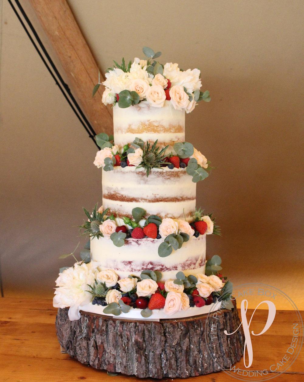semi naked wedding cake berries peonies flowers.jpg