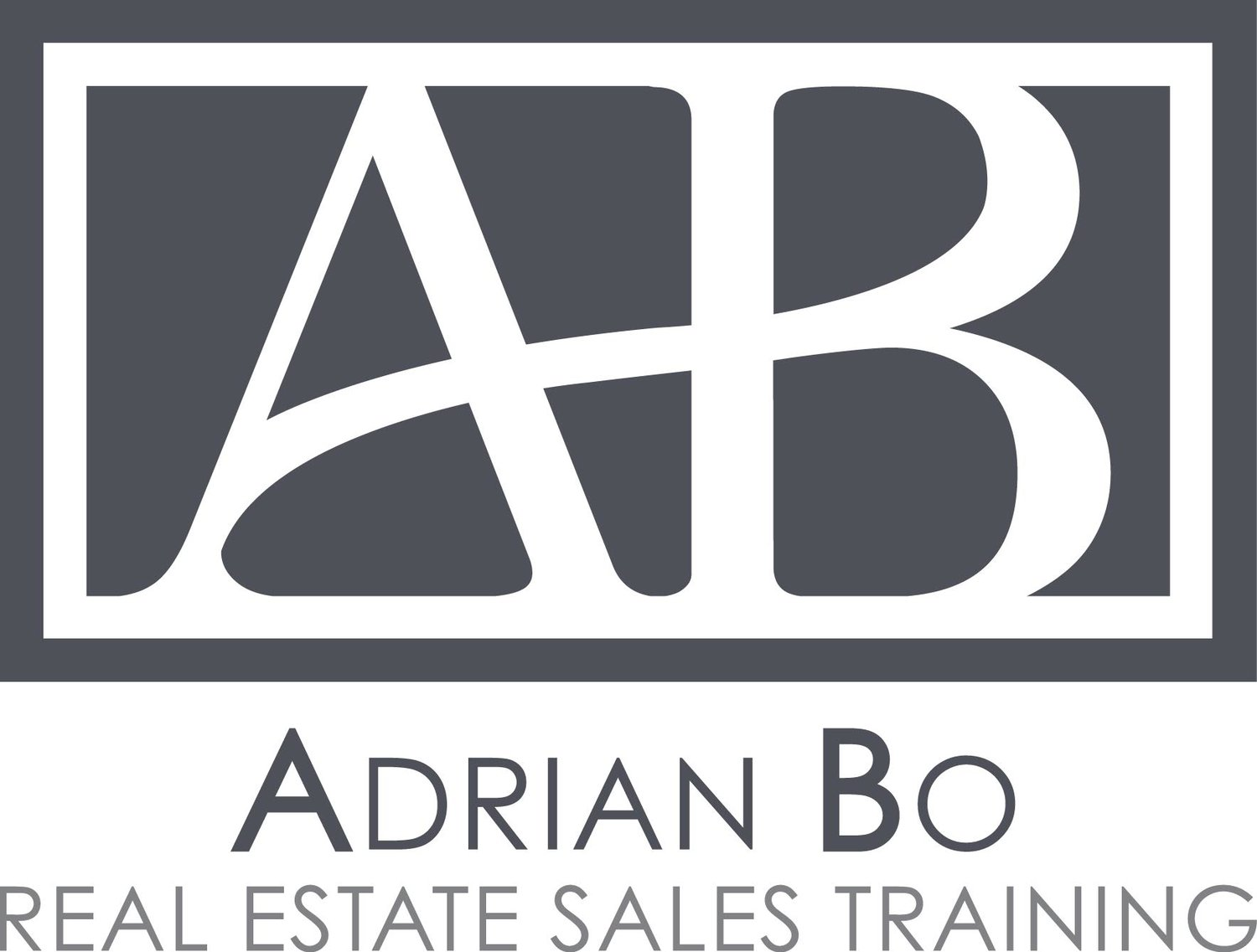 Adrian Bo Real Estate Sales Training