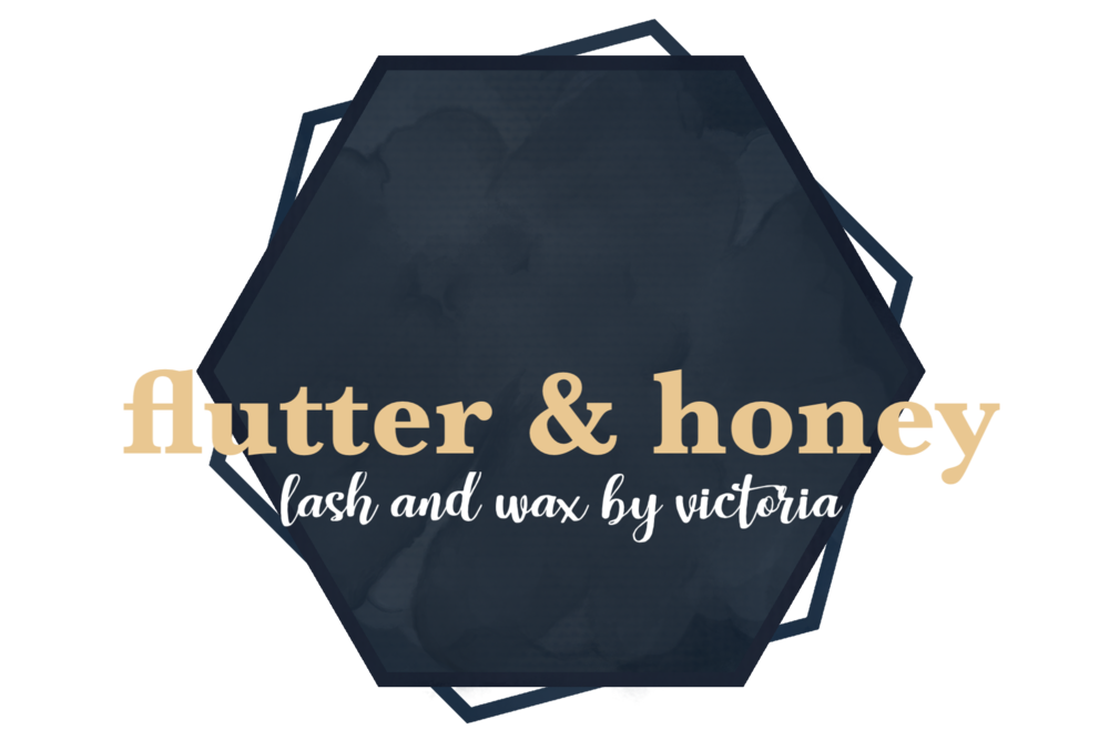 Welcome - flutter and honey; Where all your eyelash extension and waxing needs can be met.