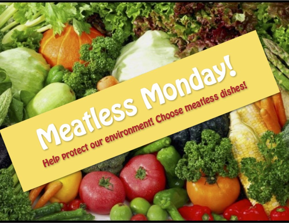 One of the GIN posters for Meatless Monday.