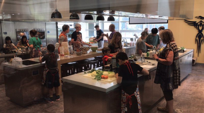 MasterChef Challenge teams included Elementary, Middle and High School student teams. (Photo: André De Koker)
