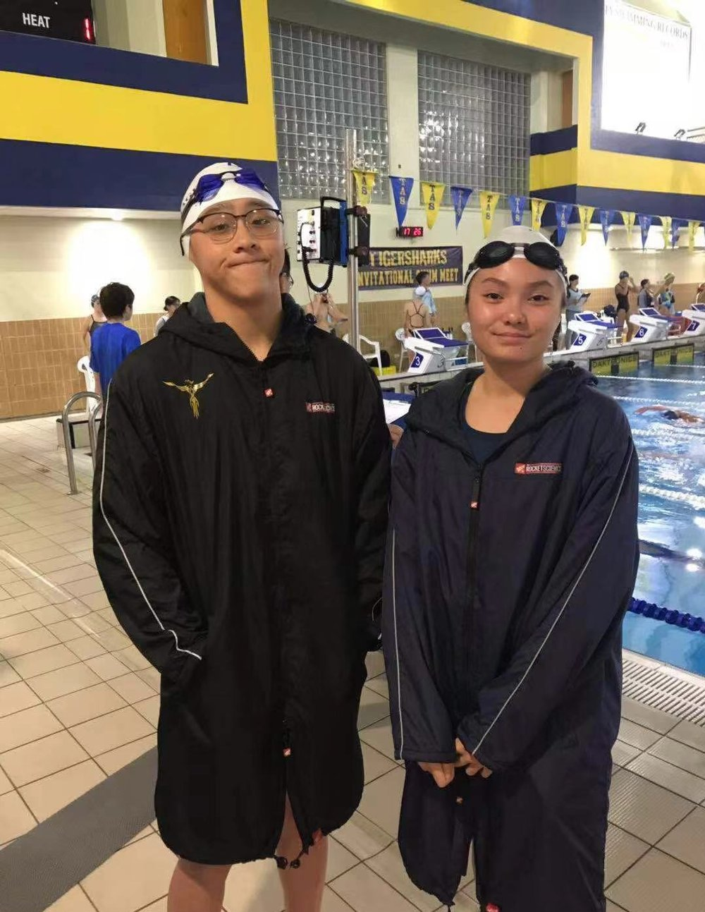 """""""I mostly swim for fitness, but I am also doing it for the varsity title and the hope of becoming captain someday"""" - Varsity Swimmer Samuel C.  (image: Erika B, Concordia Applied Journalism)"""