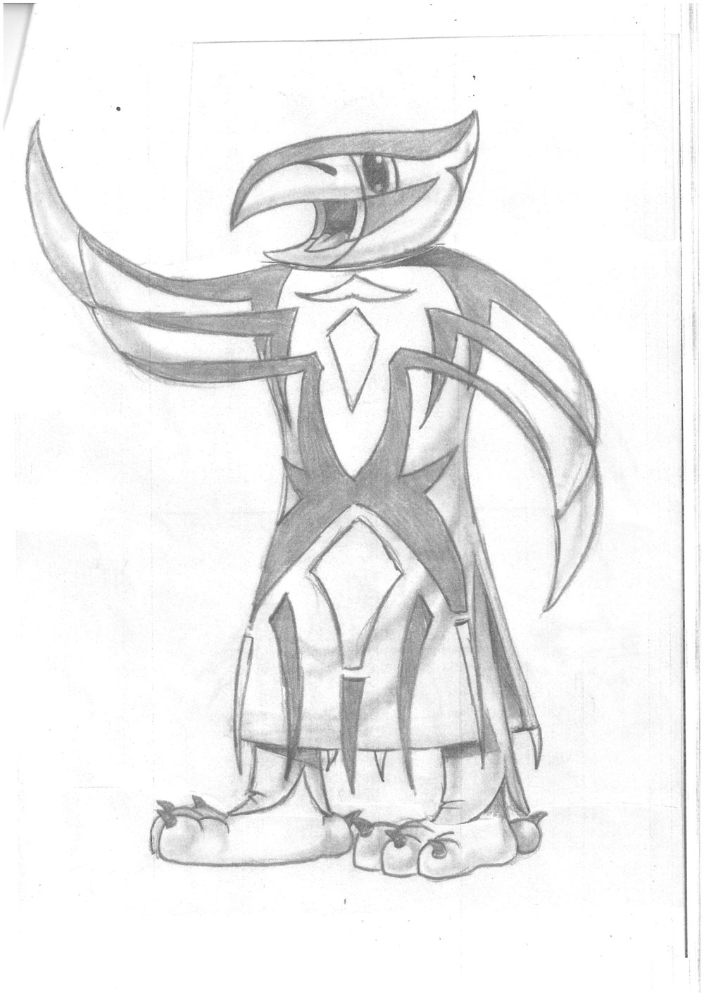This early concept drawing is clearly leading to the Blaze that we're familiar with today. (image supplied)