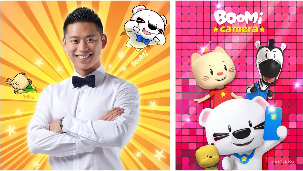 Author and entrepreneur Trevor Lai is the creator of popular animated characters Piggy, Tomo and Super BOOMi.