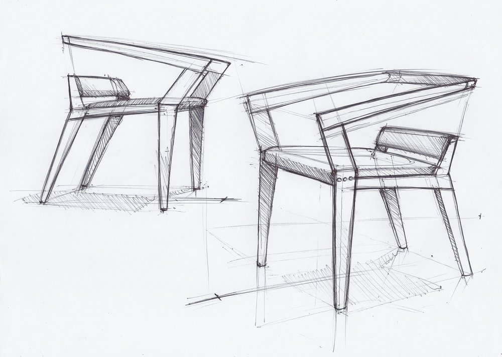 H-chair — JB design and architecture on