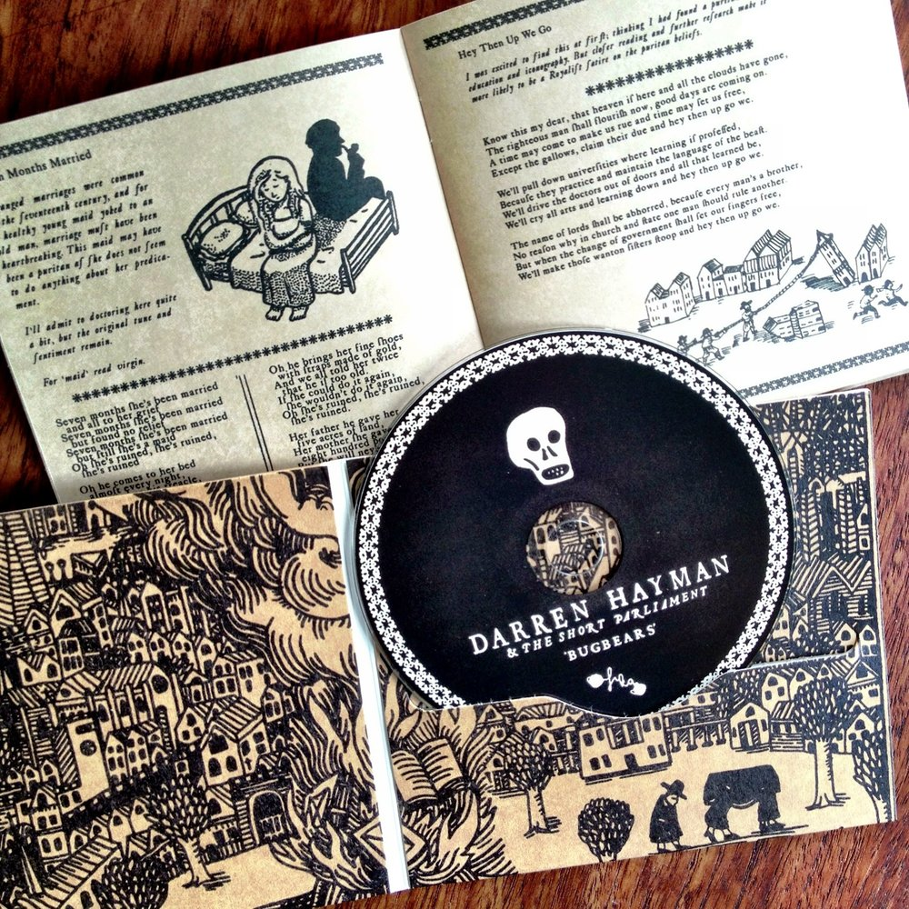 Bugbears CD and booklet