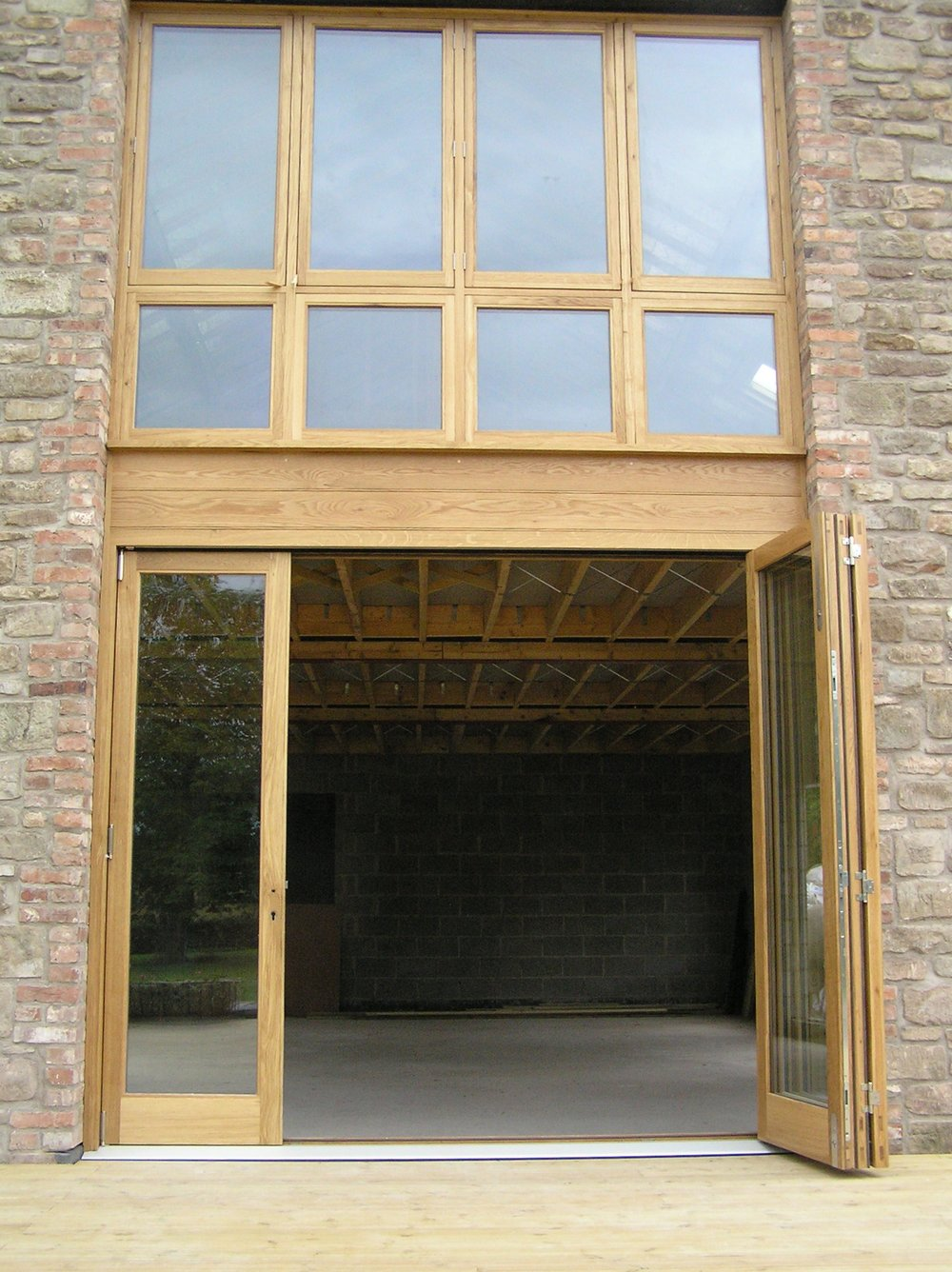 Oak Bi-fold doors Hereford
