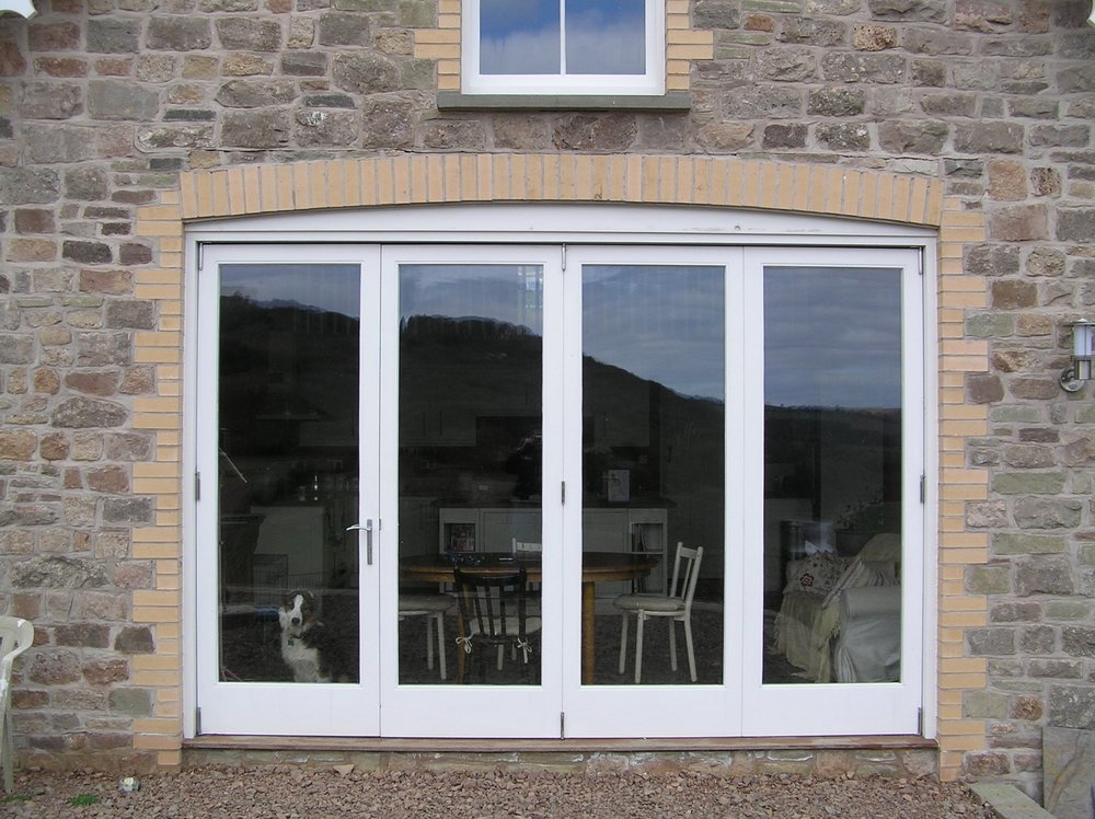 Painted Hardwood Bi-Fold doors Hereford