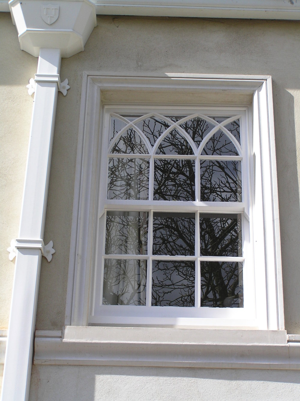 Painted Sash window Hereford