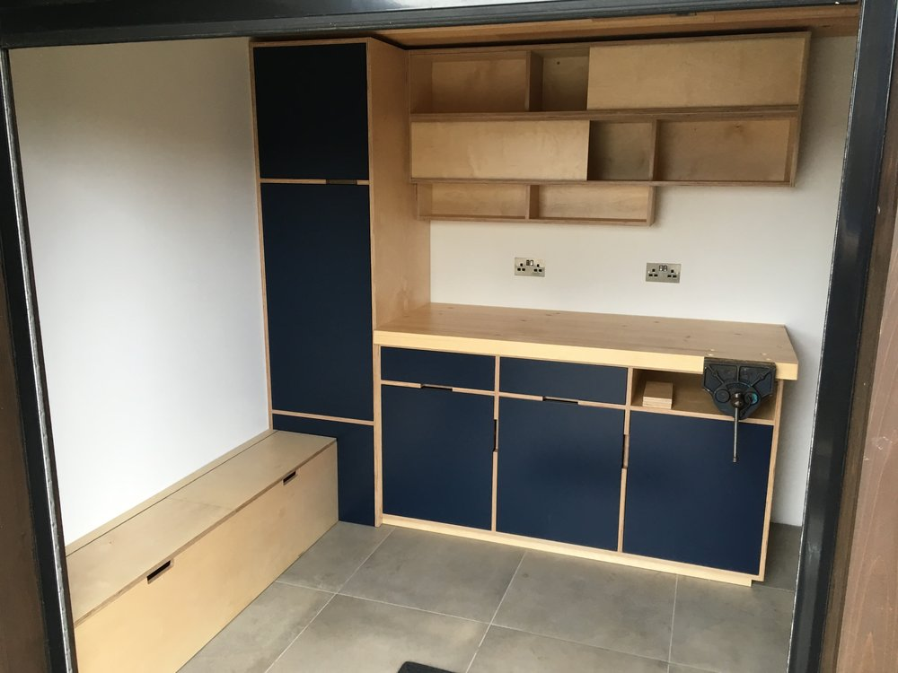 Cabinets made in Hereford by JM Joinery