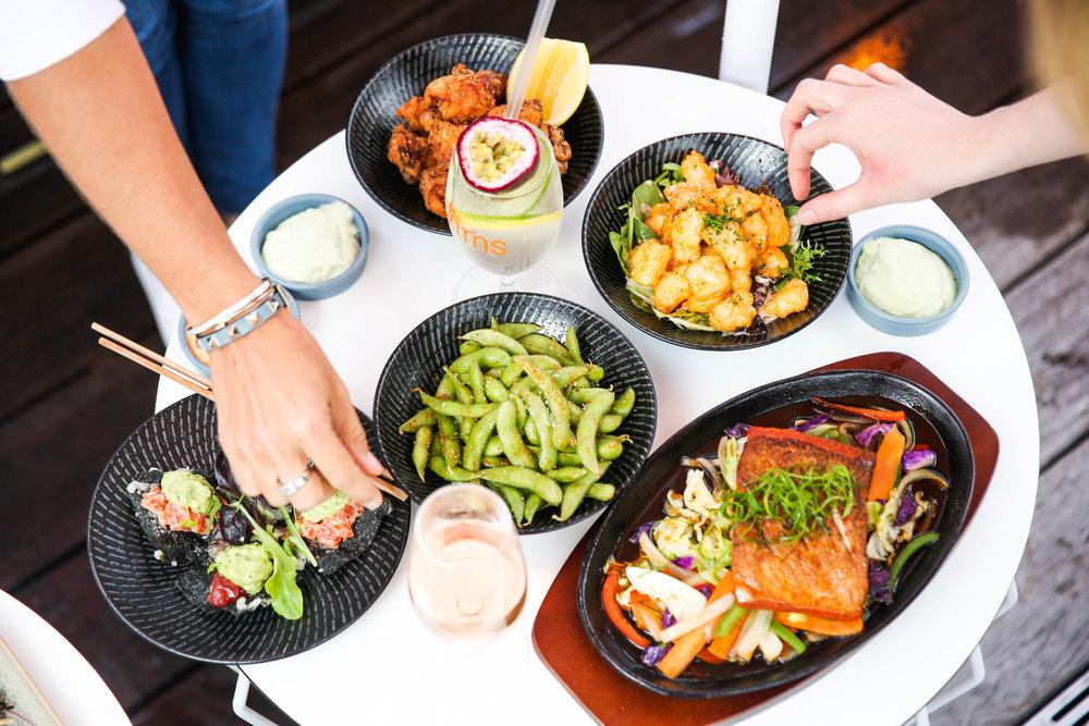 Modern Japanese small plates