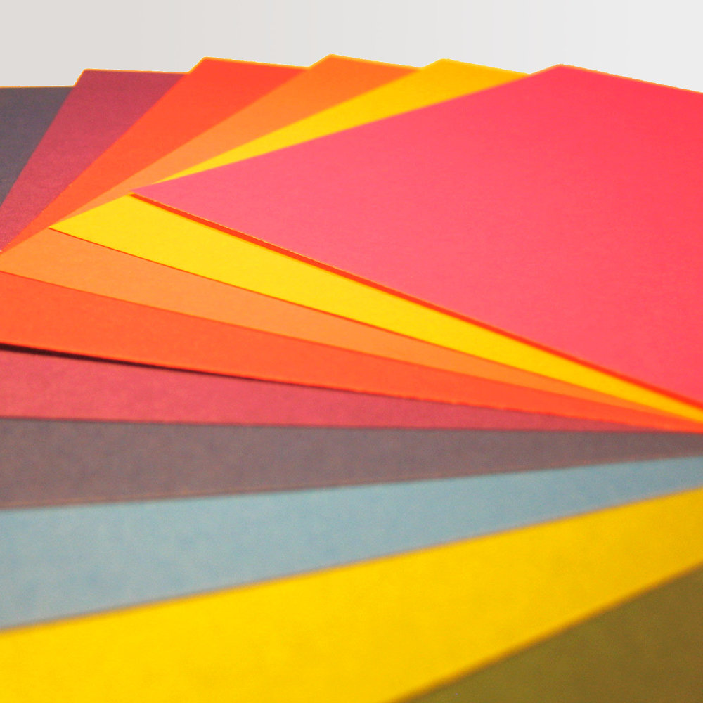Single Colour Origami Paper - beautifully presented sets of individual Pantone colours