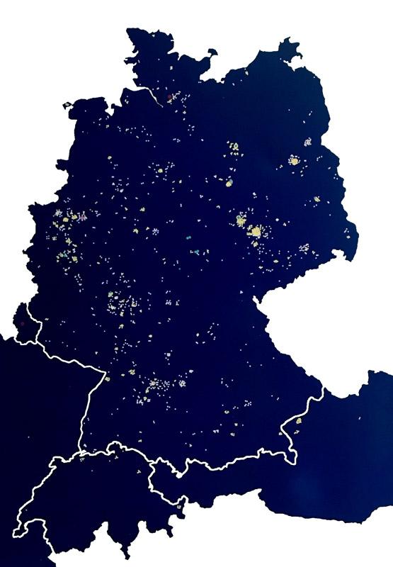 Lichtpunktkarte 2018. Unter www.aktion-lichtpunkt.de können Sie Ihrem Lichtpunkt einen Namen geben.