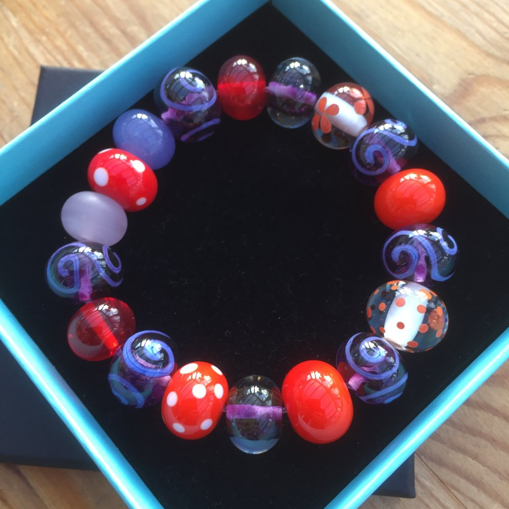 Number 1: Tutti frutti bracelet a la Christine