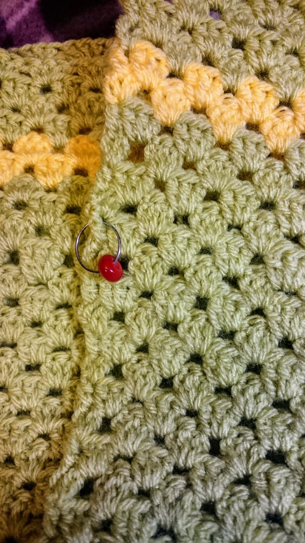 The whole Secret Santa project made me want to start doing some crochet myself - I think it's going to be quite some time before I get to Sarah's standard!