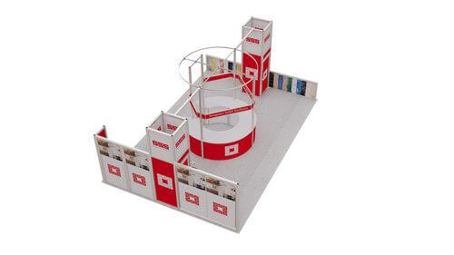 Exhibition Stand Contractors Glasgow : Exhibition stands by over and above exhibition stand designers