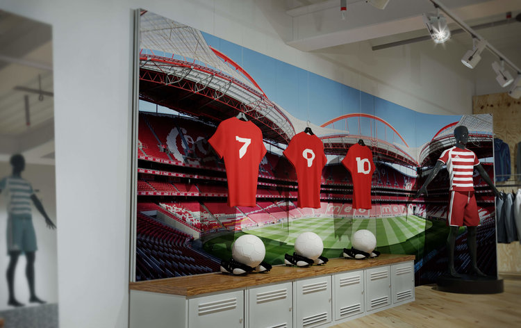 Exhibition Stand Frames : Tension fabric frames tfs displays u2014 the marketing works