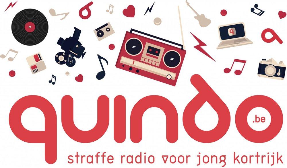 - Quindo is het Kortrijkse medialab met een avontuurlijke jongerenradio.