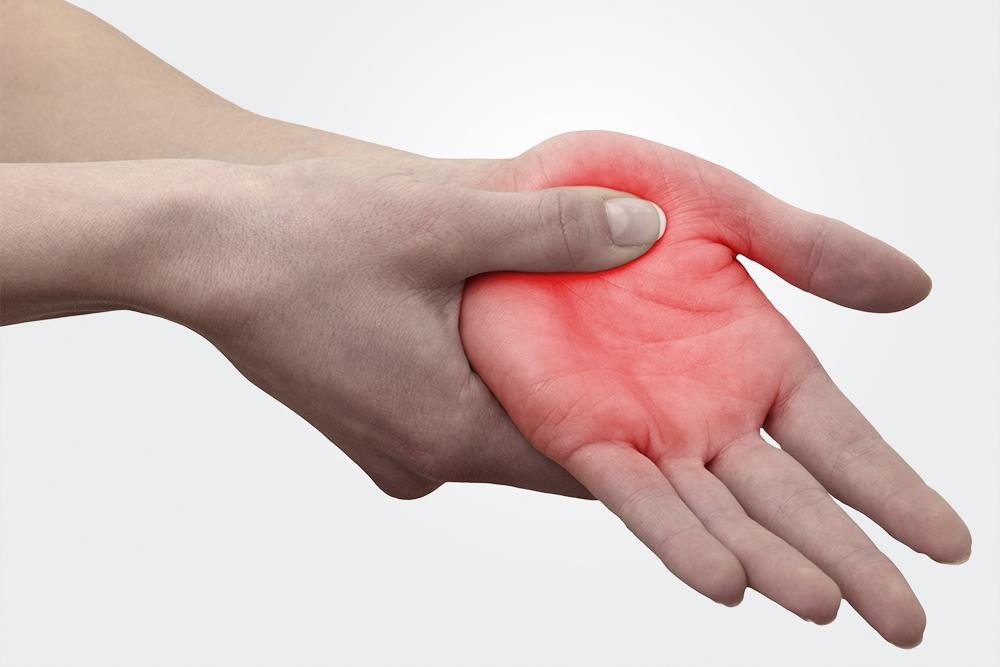 Smerter i hænder -