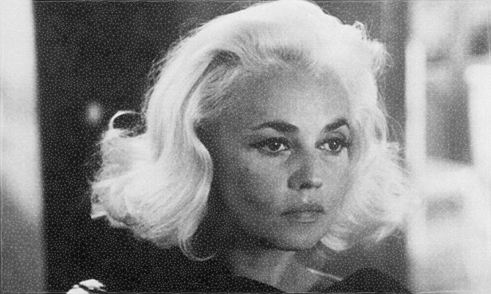 Jeanne Moreau test image again.