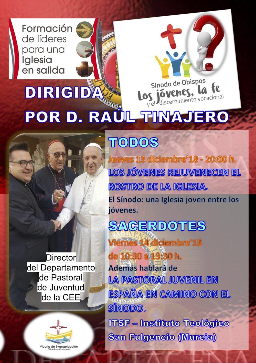 Cartel Jornada Formación de líderes dicimebre 2018 con Raúl Tinajero TÍTULOS.jpg