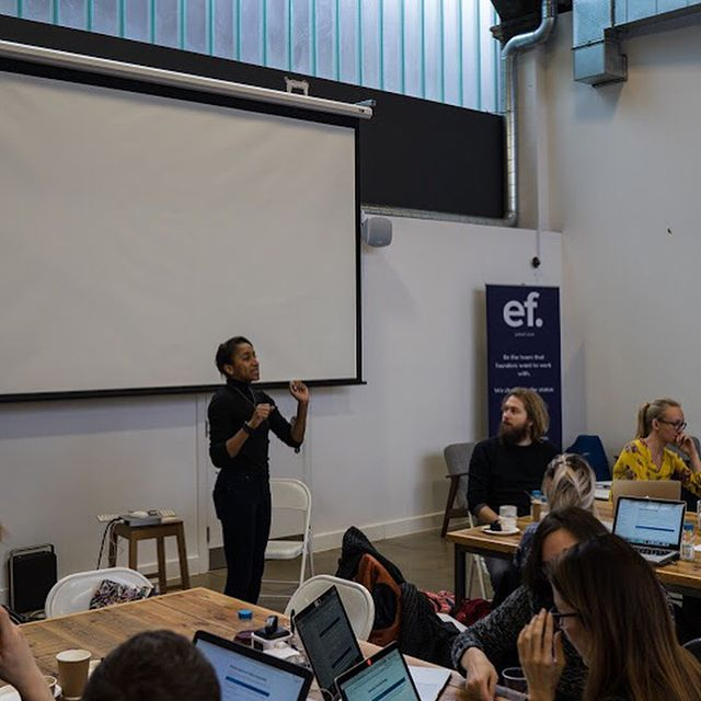 EF is pleased to have hosted ClojureBridge London last weekend. The event aimed to provide women and non-binary people with a positive experience of software engineering, using the Clojure programming language. Thank you to all of those who attended the event !