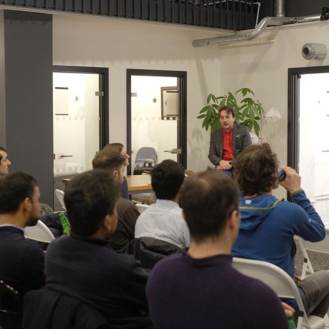 Last night at the London Applied Deep Learning Meetup organised by Jiameng Gao (Papercup Technologies, EF9). Speakers included Alan Mosca (nPLan, EF9) and Shawn Wen (PolyAI, EF9). Thank you all for attending !