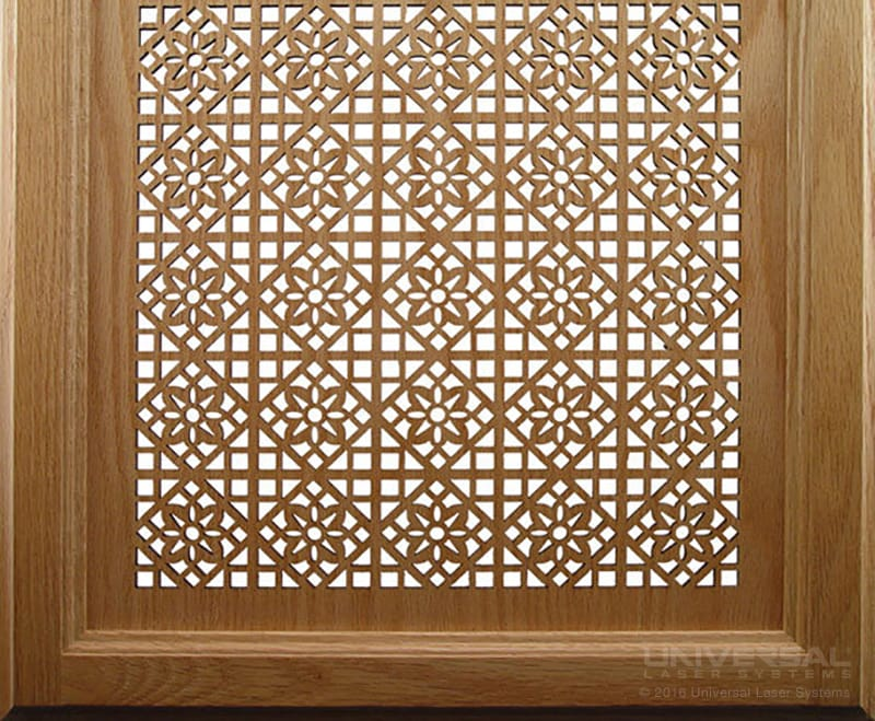 natural_(organic)_materials_wood_laser_cutting_cabinet_door_with_a_10.6_micron_co2_laser