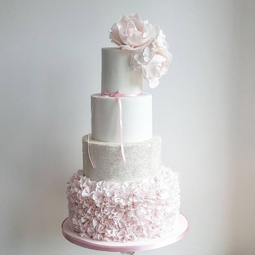 DOTTY ROSE WEDDING CAKE DESIGN 5 TIER PINK RUFFLED.png