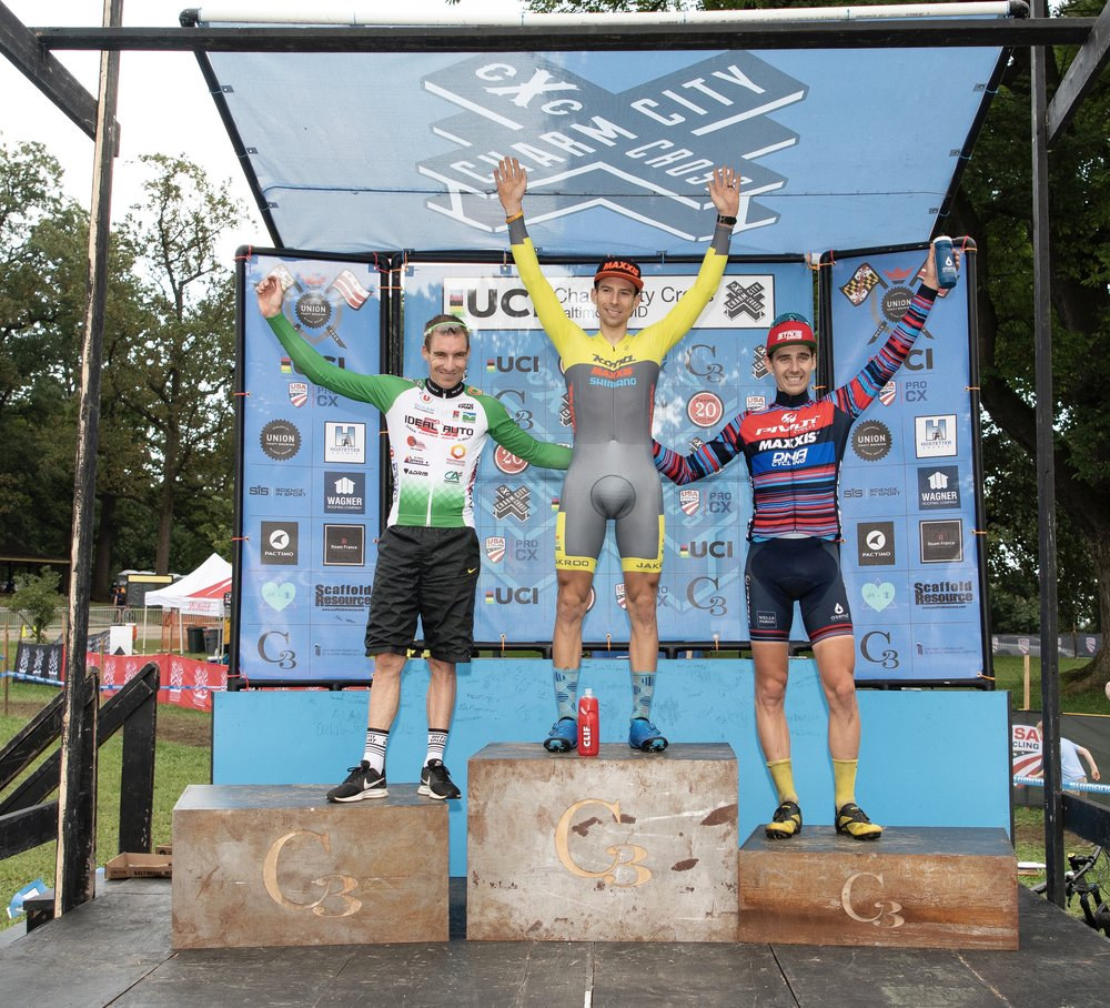 Day 1 Men's Podium