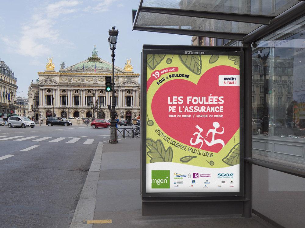 Affiches JC Decaux - Campagne d'affichage de sucettes et 4x3 dans Paris et petite couronne.