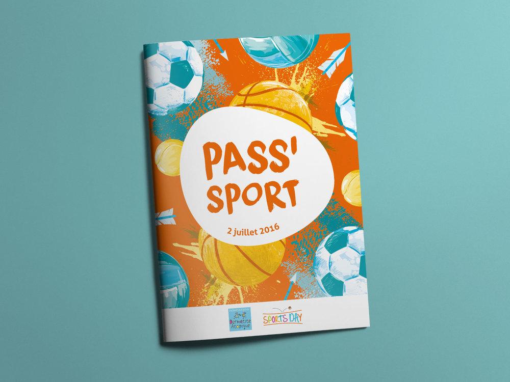 Roadbook - Livret distribué aux enfants qui regroupe le programme des festivités, des conseils pratiques concernant les activités proposées ou encore des quiz à remplir à la fin des ateliers.