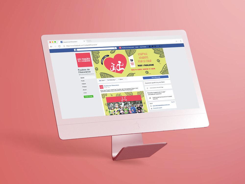 Visuels réseaux sociaux - Alimentation RS en visuels pour posts, couvertures et profil.