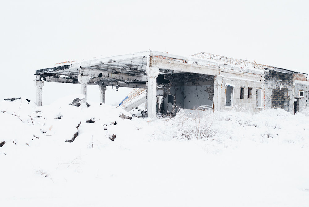 The city of Sloviansk after devastating fightings 2,5 years ago.