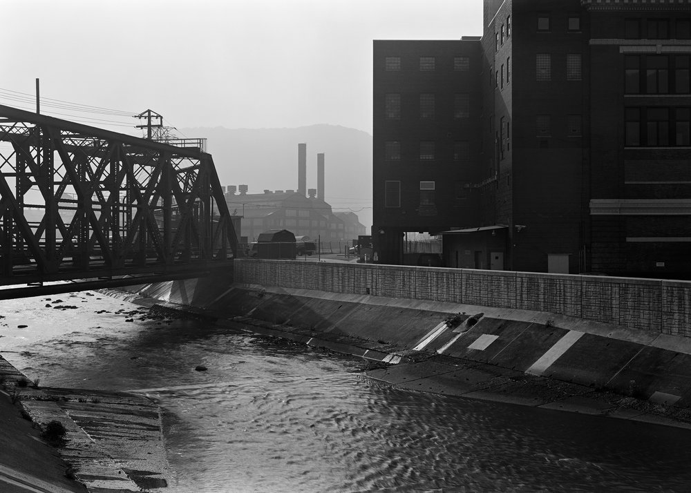 Conemaugh River and Gautier Mill, Johnstown, Pennsylvania