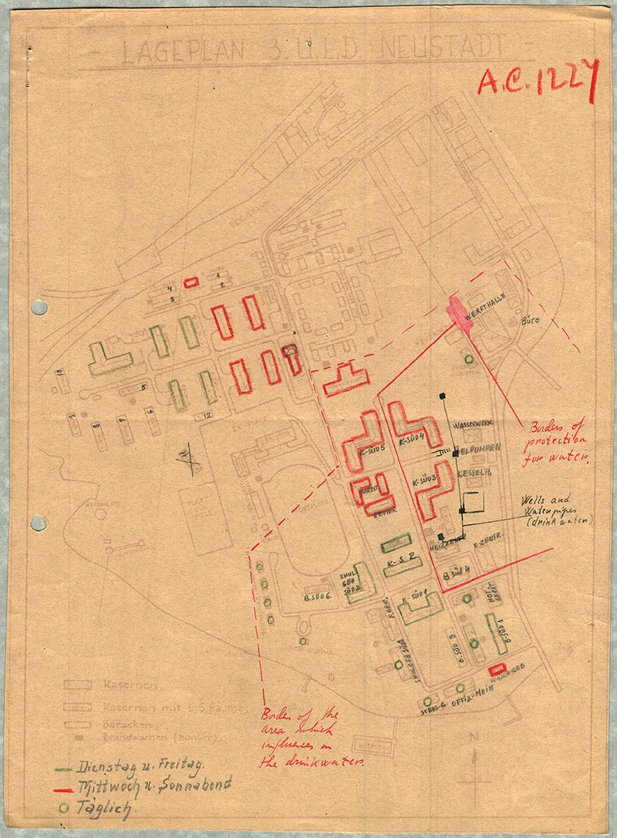 Neustadt DP camp 1945