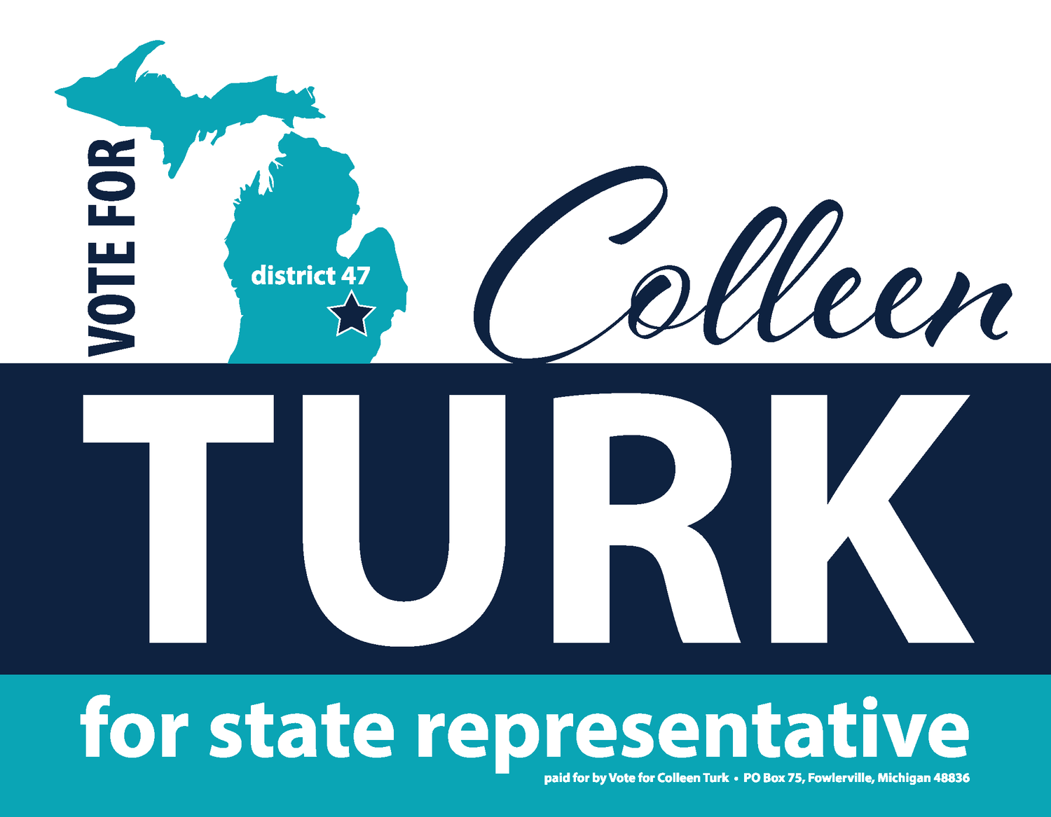 Vote for Colleen Turk