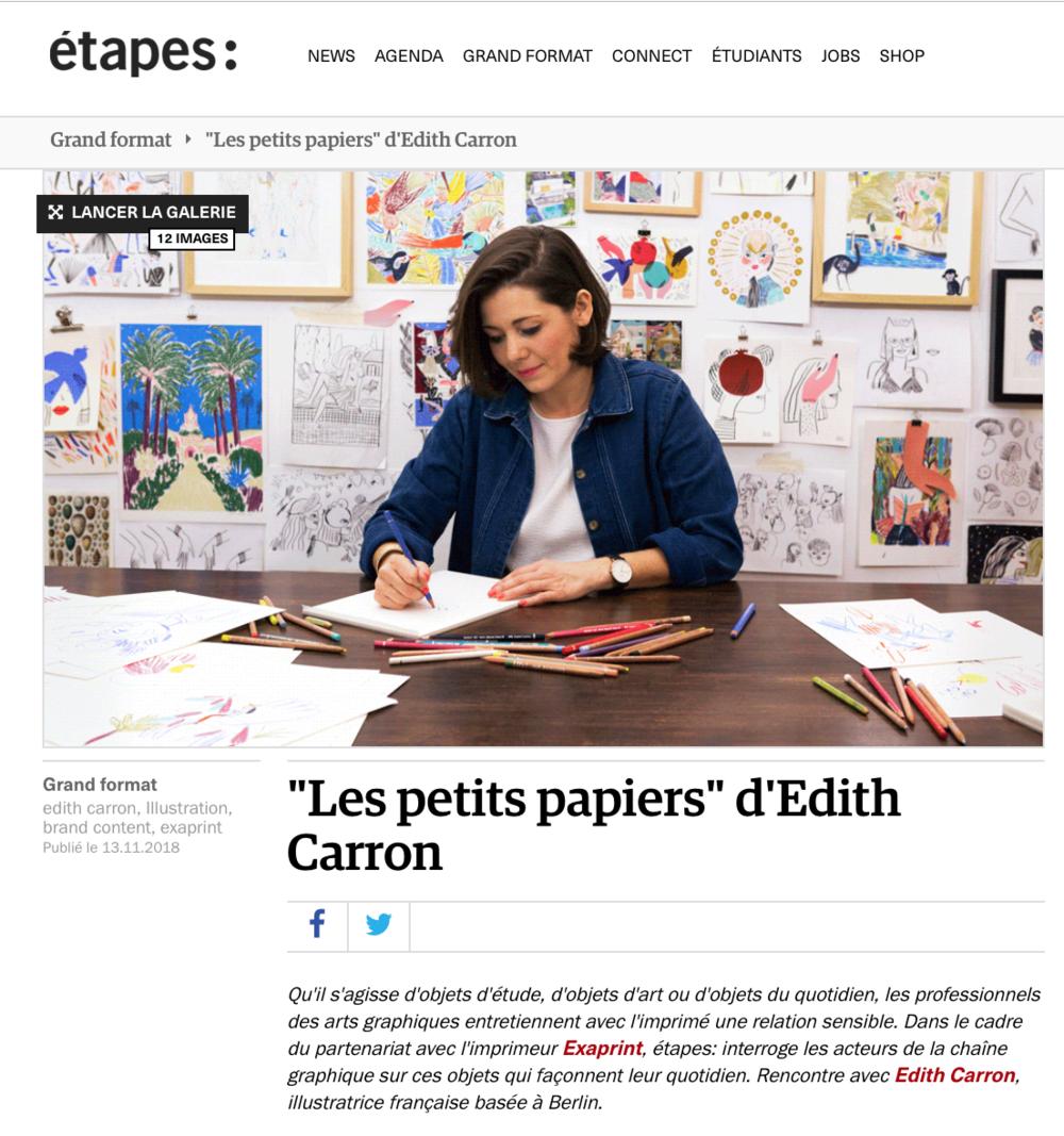 http://etapes.com/les-petits-papiers-d-edith-carron