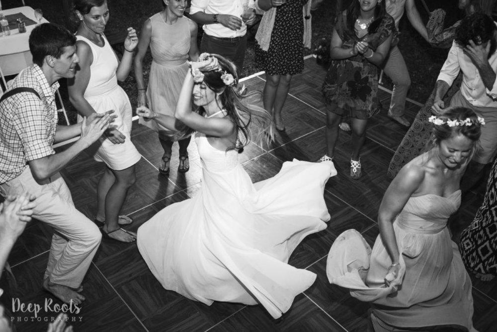 Alyssa's dress stole the dance floor!!!