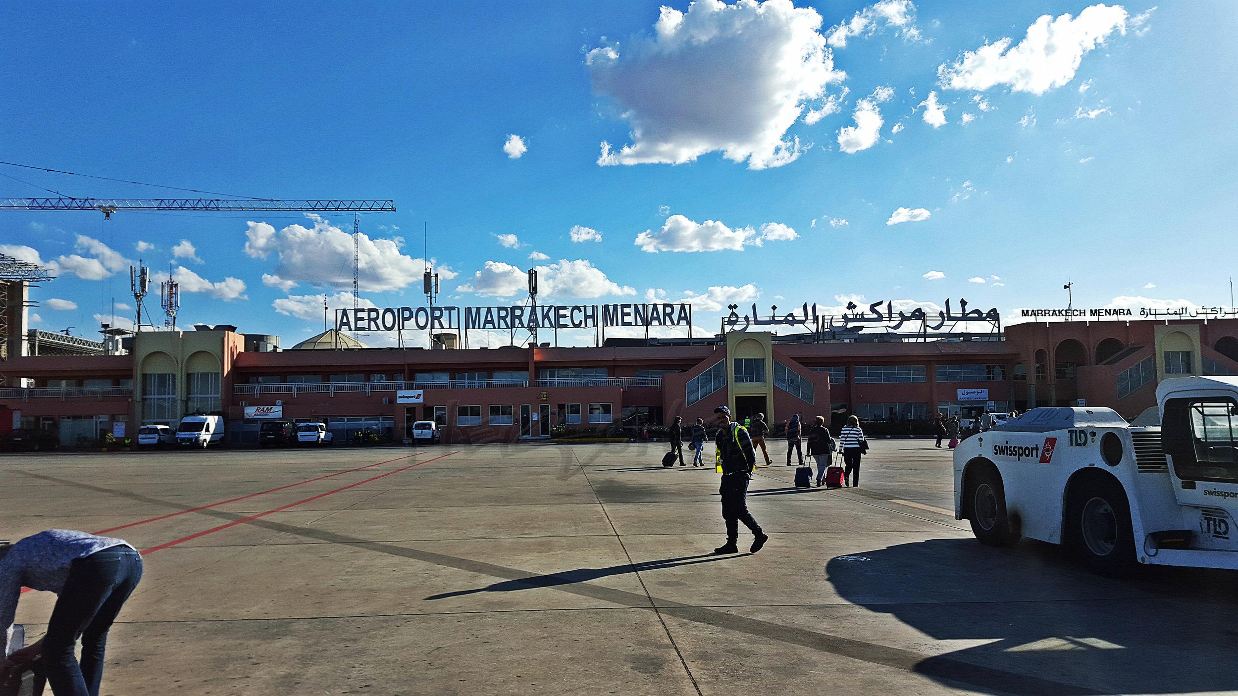 Flughafen Rollfeld