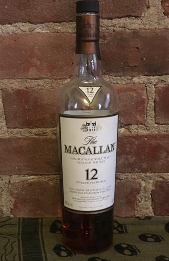 Non Peated Scotch: Macallan 12