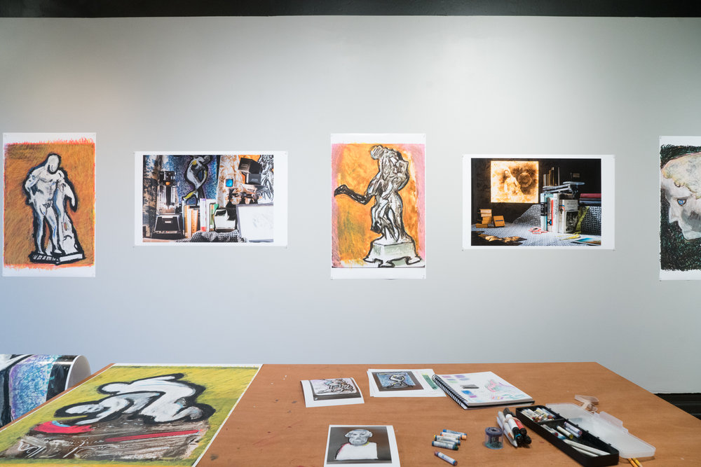 Installation view at the Visual Studies Workshop