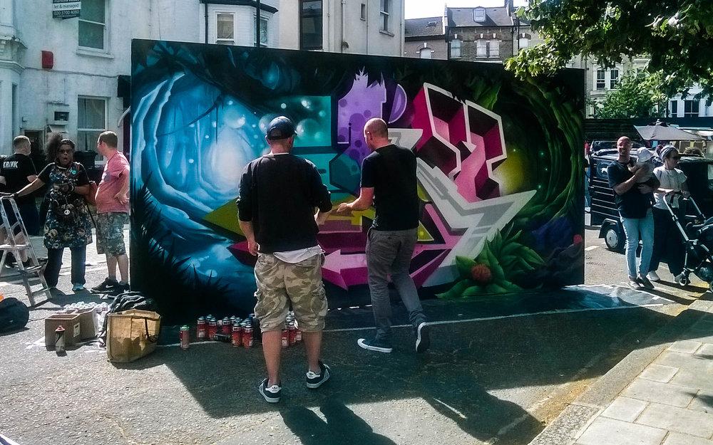 For more information about the Urban Art Fair visit  www.urbanart.co.uk  Ⓒ  Shimeij Creatives Ltd.
