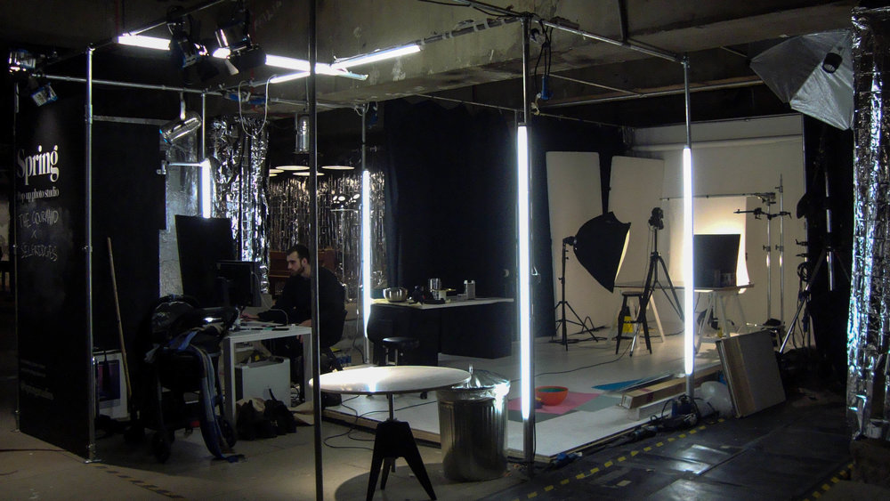 Photography Pop-up Studio by Spring Studios