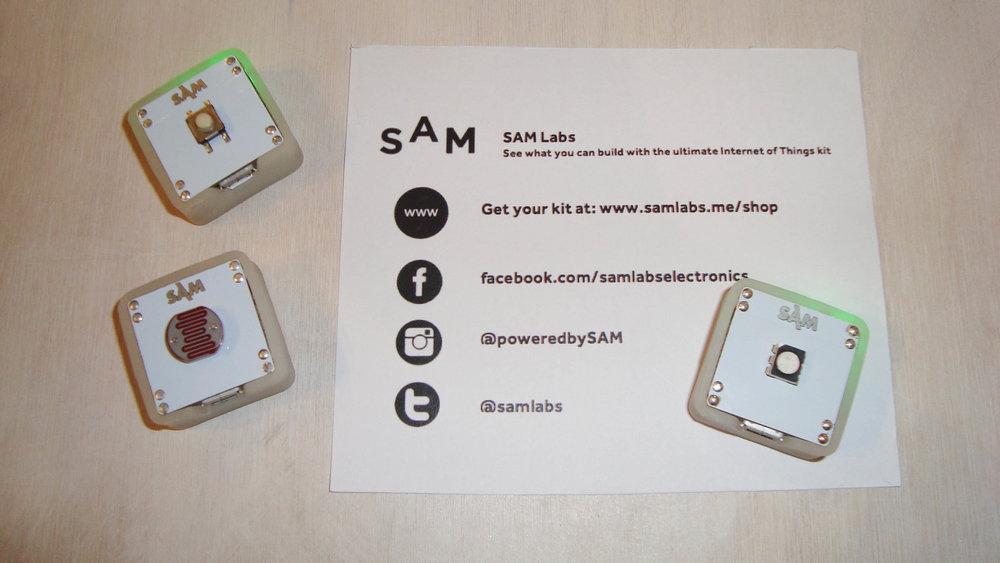 Innovative Codebuilding Blocks by  SAM Labs