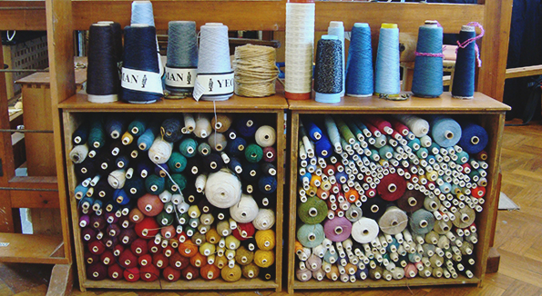 Textile Designer and Handweaver Charlotte Grierson