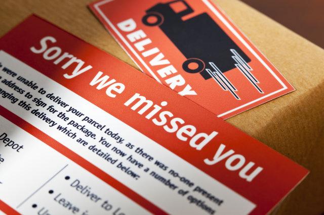 Missed courier pick-ups (AOL UK Money)